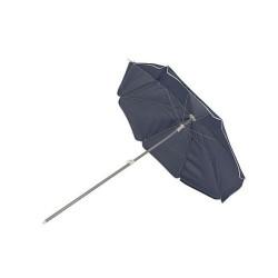 Bo-Camp Parasol Met knikarm 165 cm Blauw