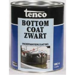 Tenco bottomcoat 2.5 lt zwart