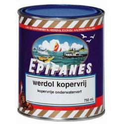 Werdol Kopervrij roodbruin 750ml VE1