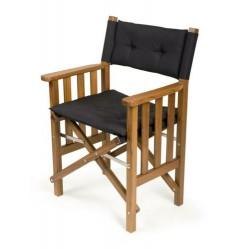 Reg. stoel II, geolied, RVS