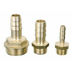 Messing slangtule G3-8 - 15 mm