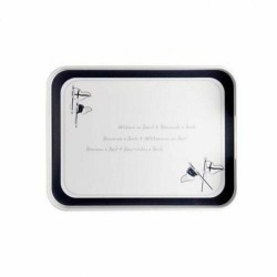 27012 - Welcome Rectangular Tray - 1 pc