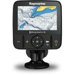 Dragonfly 5Pro fishfinder 5  display met CHIRP Downvision en Sonar, Wi-Fi en GPS cartografie eenheid