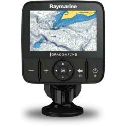 Dragonfly 5M 5  GPS kaartplotter met European CMAP Essentials cartografie