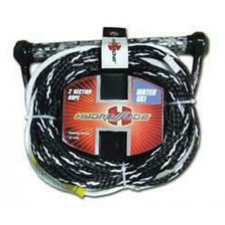 Hydroslide Ski Rope Single - 2 sections - 23 mtr