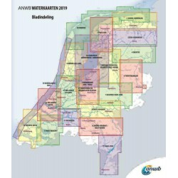 ANWB Waterkaart 14. Zeeuwse Delta 2019