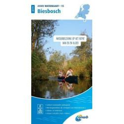 ANWB Waterkaart 15. Biesbosch 2019