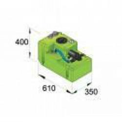 Drinkwatertank systeem Comfort 42ltr, 12V