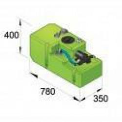 Drinkwatertank systeem Comfort 61ltr, 12V