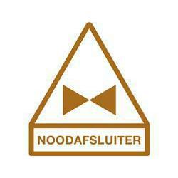 STICKER NOODAFSLUITER+AFB.BRUI