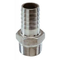 Slangtule rvs AISI316 G1 1-2 - 38 mm