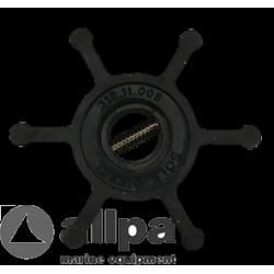 Impeller Assy kit incl  gasket en  o-ring *