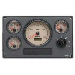 Motorpaneel type MP34 12V lINEA nOST (0 - 5000RPM)