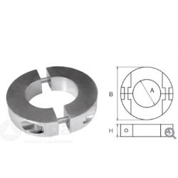 allpa Aluminium Anode voor Ï25mm-as ringvormig-dun