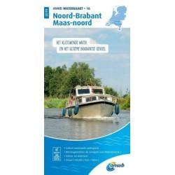 ANWB Waterkaart 16. Noord-Brabant-Maas-Noord 2019
