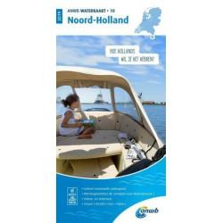 ANWB Waterkaart 10. Noord-Holland 2019