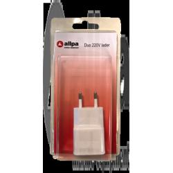 allpa duo USB-lader 220V